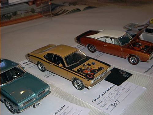 1971 Plymouth Duster 340 AMT 1/25 Mar24110