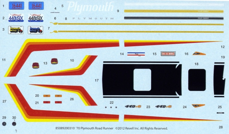 1970 Plymouth GTX Monogram 1/24 - Page 2 Road_r10