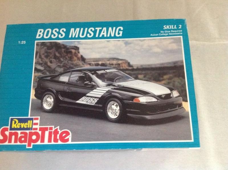 Restoration Mustang Boss. S-l10010