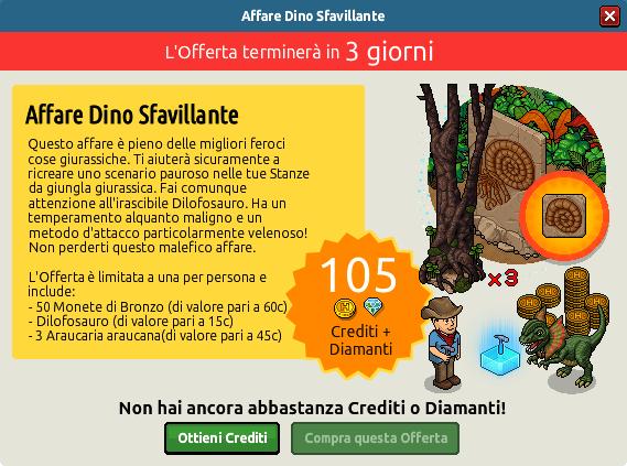 """[ALL] Offerta """"Affare Dino Sfavillante"""" - Dilofosauro Orrta10"""