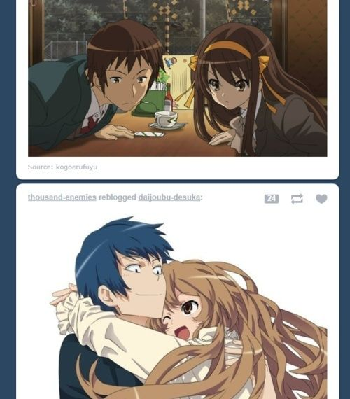 [ANIME/MANGA/LIGHT NOVEL] Toradora! Tumblr10