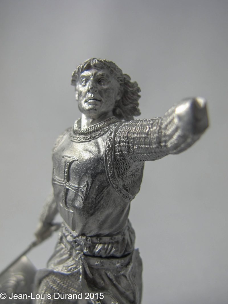 Frederic II de Souabe - Pegaso ref. 90-011 - 90mm - Huile Frydyr20