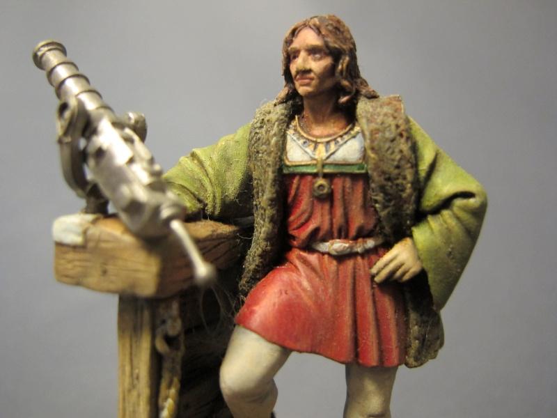 Cristobal Colon, 1492 - F.M. BENEITO - 60mm - Huile Img_6321