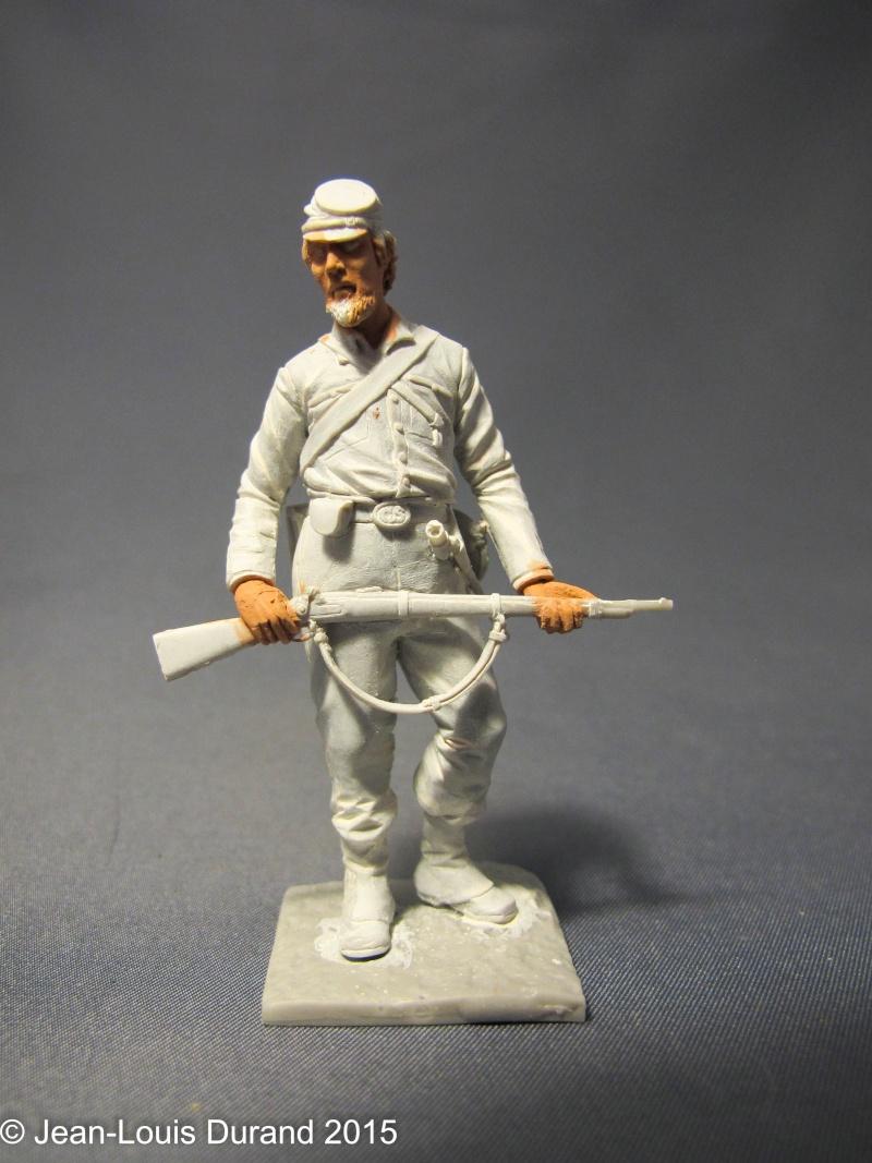 Soldat confédéré - GRX Diffusion - 75mm - Acrylique Img_6414