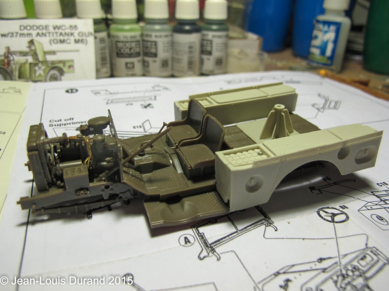 "GMC M6 ""Fargo"" Canon de 37 mm - Conversion AZIMUT sur base SKYBOW - 1/35 Img_6616"