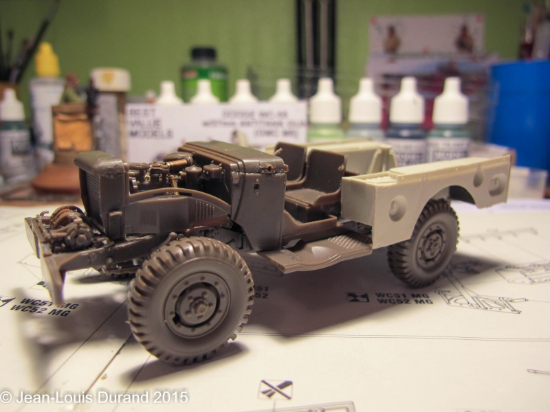 "GMC M6 ""Fargo"" Canon de 37 mm - Conversion AZIMUT sur base SKYBOW - 1/35 Img_6633"