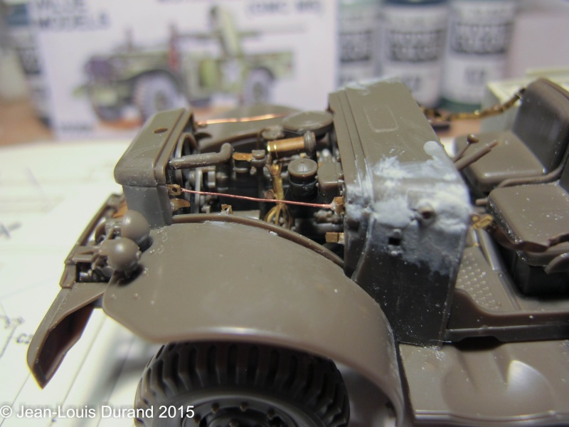 "GMC M6 ""Fargo"" Canon de 37 mm - Conversion AZIMUT sur base SKYBOW - 1/35 - Page 2 Img_6636"