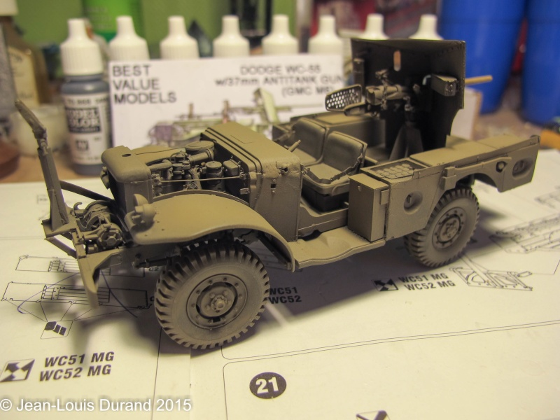 "GMC M6 ""Fargo"" Canon de 37 mm - Conversion AZIMUT sur base SKYBOW - 1/35 - Page 2 Img_6648"