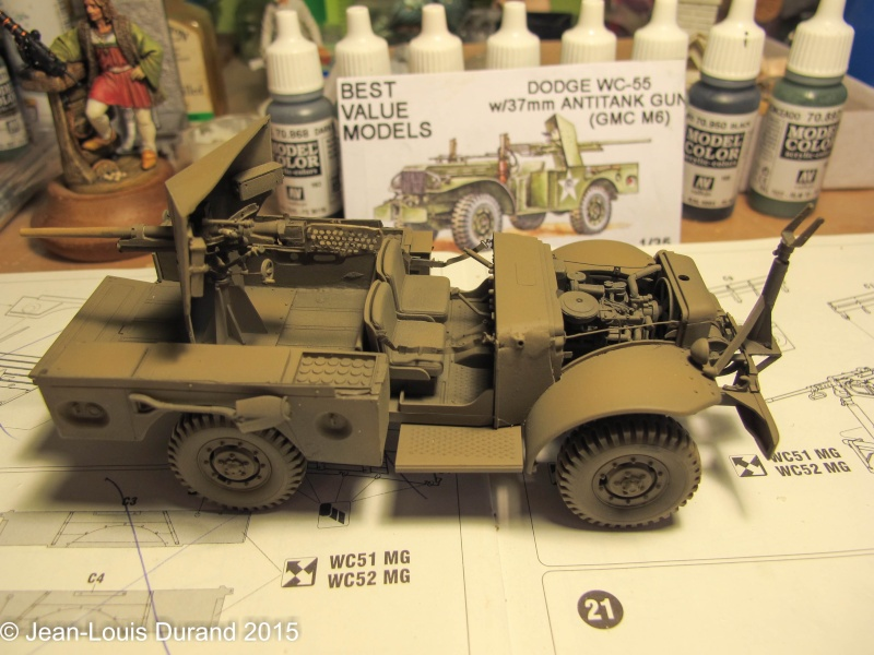 "GMC M6 ""Fargo"" Canon de 37 mm - Conversion AZIMUT sur base SKYBOW - 1/35 - Page 2 Img_6650"