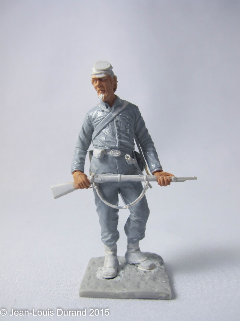 Soldat confédéré - GRX Diffusion - 75mm - Acrylique Img_6658