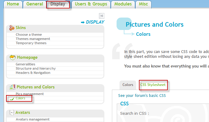 How to change your forum cursor? Css10