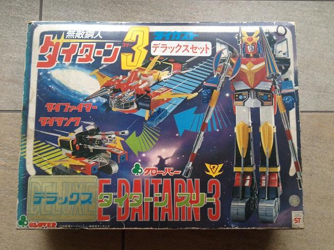 Daitarn 3 DX - Originale Clover MADE IN JAPAN 110