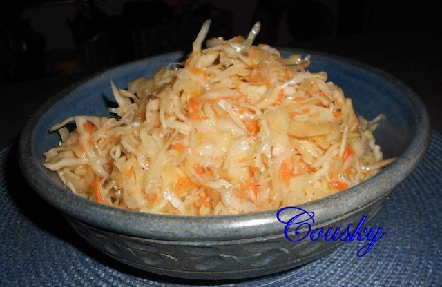 Salade de chou cuite  -210