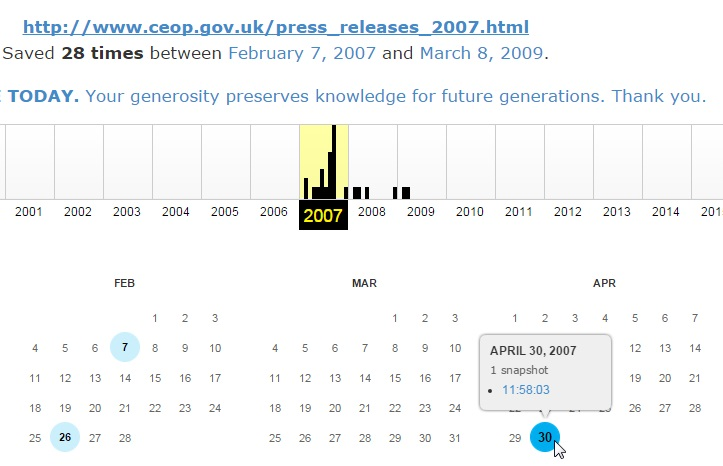 "Claim by 'Stevo' - ""CEOP show Maddie is missing on 30th April 2007"" - Page 21 Ceop410"