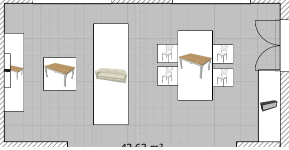 Peinture et meubles salon! Plan10