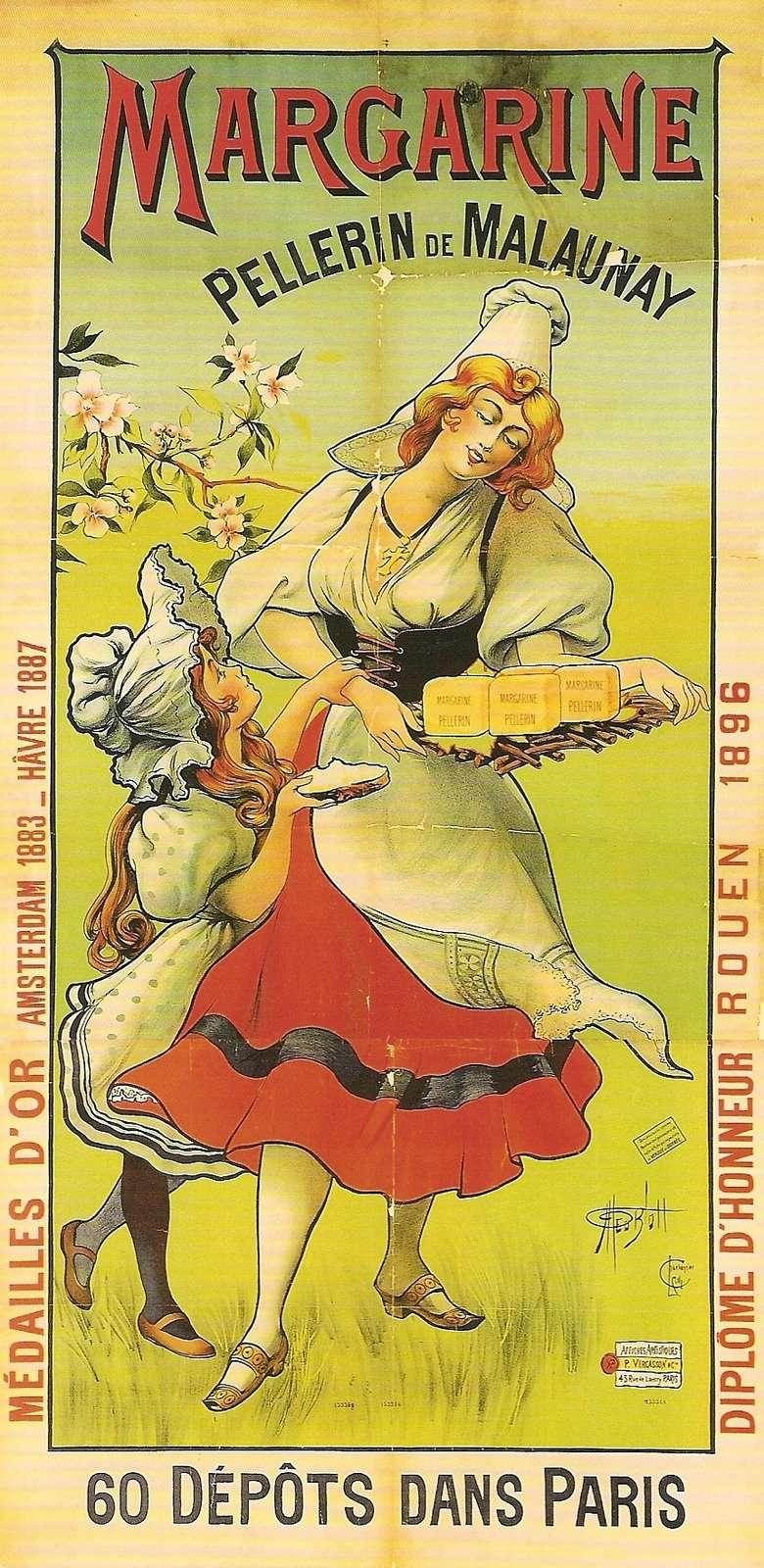 Les aniennes affiches publicitaires. A_f7j610