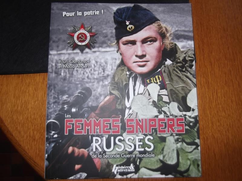 CADEAU fête des pères.   FEMMES SNIPER RUSSES 2 EME WWII Dscf3015