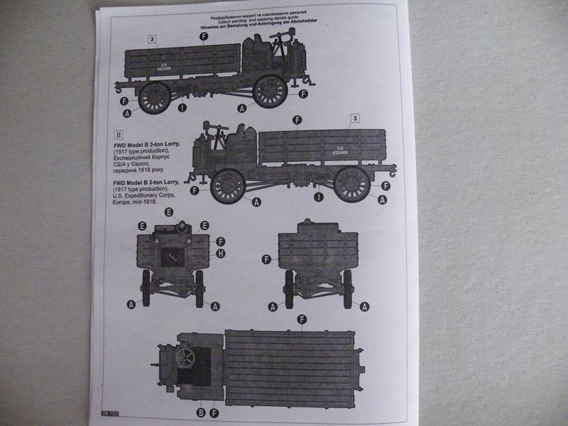 FWD Modell B 3-Tonner von Roden 1/72 Dscf2516