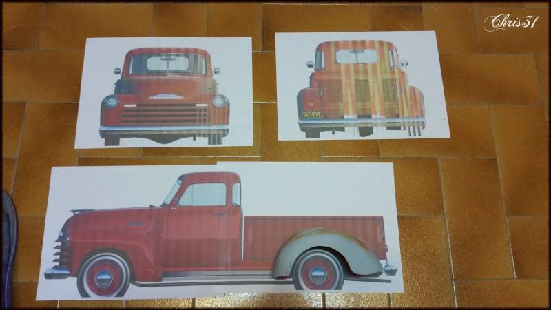 Chris Customs. Chevy Truck 1950 - Page 2 20150715