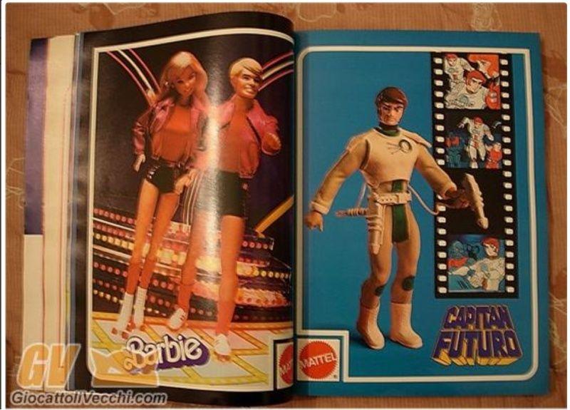 il giornale dei giocattoli 1981 bushido e capitan futuro prototipi Catalo10