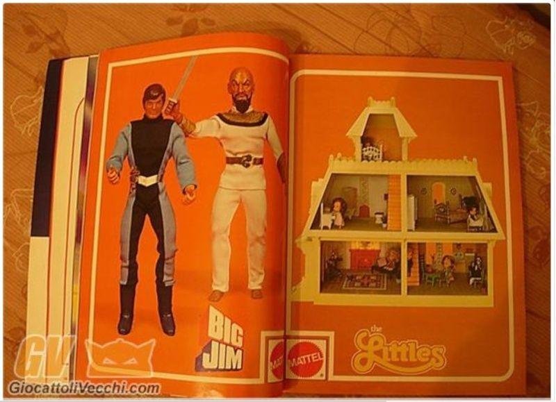 il giornale dei giocattoli 1981 bushido e capitan futuro prototipi Catalo11
