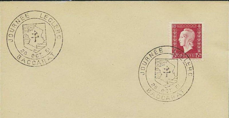 Baccarat : Journée LECLERC 28 octobre 1951 Baccar10