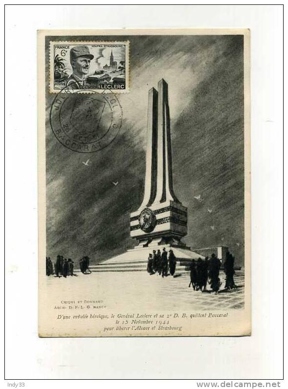 Baccarat : Journée LECLERC 28 octobre 1951 Baccar11