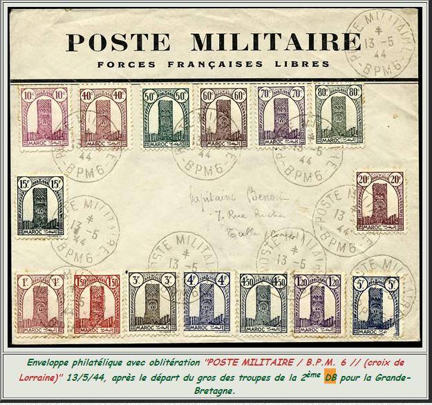 bureau postal militaire n° 6 Bpm6110
