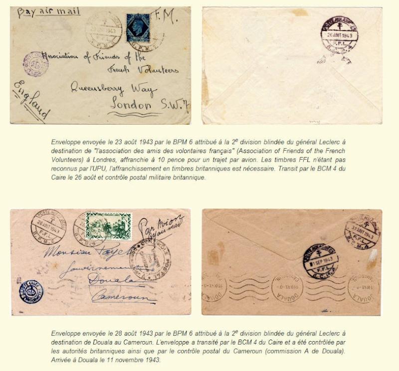 bureau postal militaire n° 6 Bpm6710