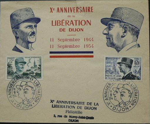 Dijon 1949 1954 1984 Nod-sur-Seine Dijon410