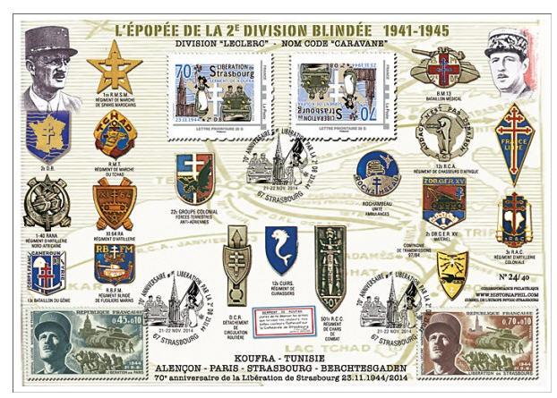 Strasbourg 1969 ,1974,1984,1987,1997,2014,médaille,vignettes Docume10