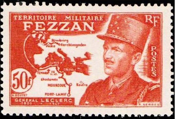 Fezzan 1949 F.F.L. colonne Leclerc Mourzoug Fezzan12