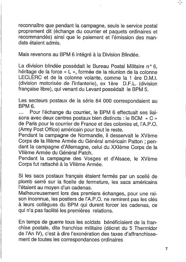 Historique du BPM6 par André BRIOLLET Huchet13
