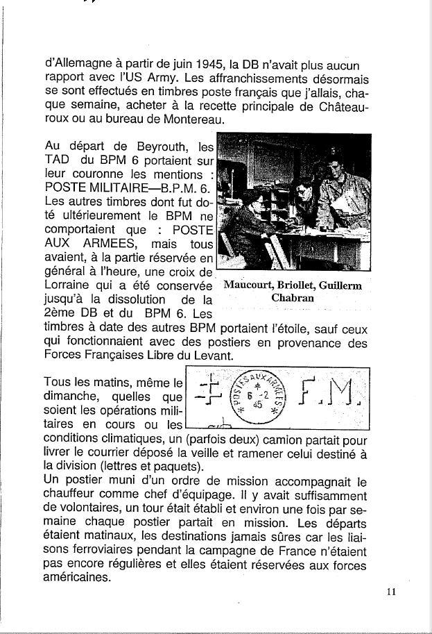 Historique du BPM6 par André BRIOLLET Huchet18