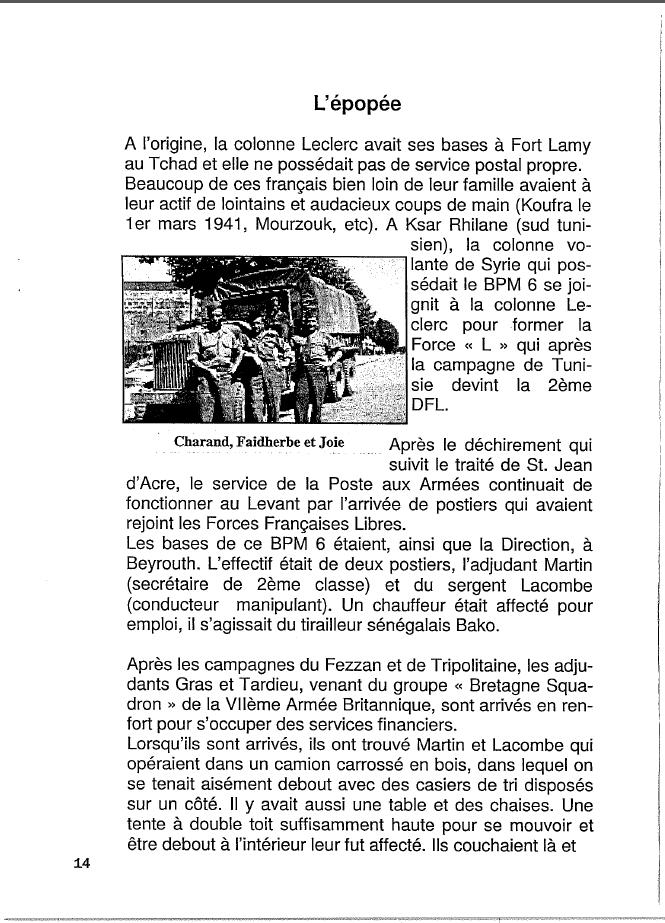 Historique du BPM6 par André BRIOLLET Huchet23