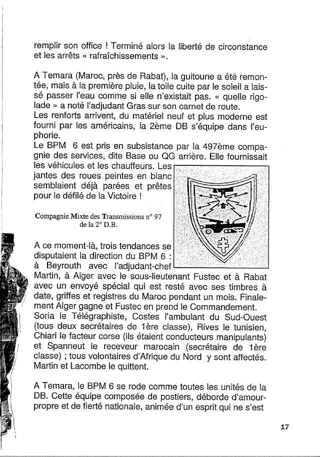 Historique du BPM6 par André BRIOLLET Huchet25