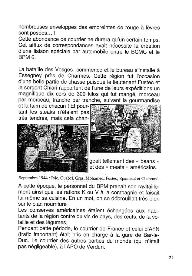Historique du BPM6 par André BRIOLLET Huchet30