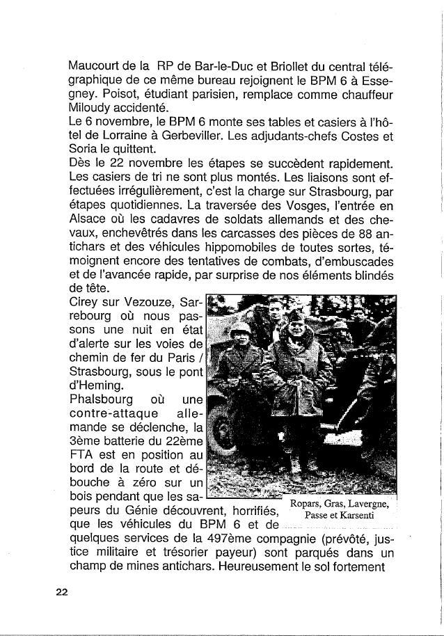 Historique du BPM6 par André BRIOLLET Huchet31