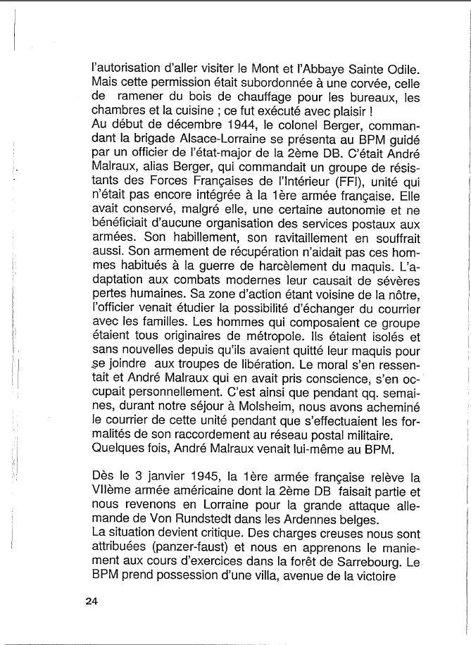 Historique du BPM6 par André BRIOLLET Huchet33