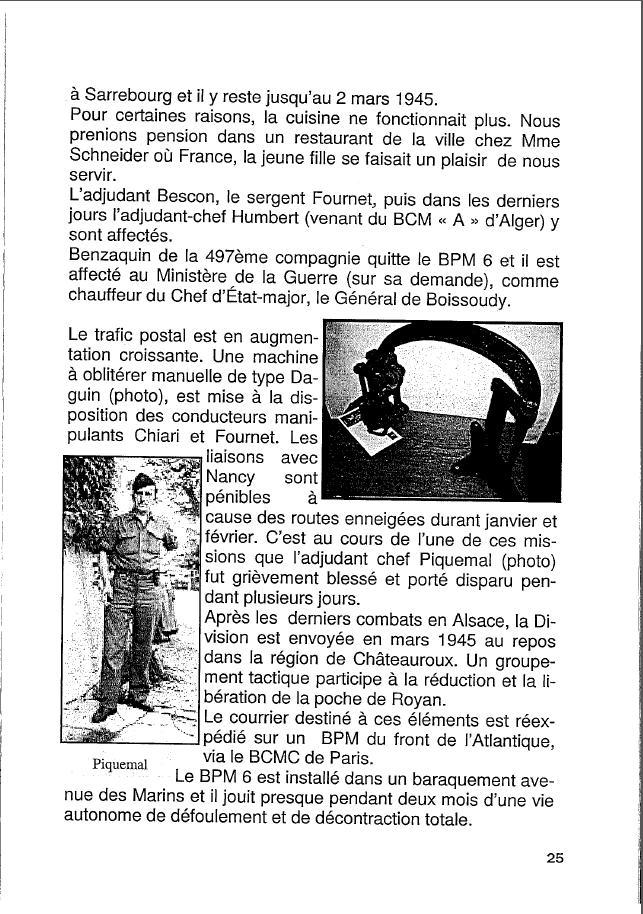 Historique du BPM6 par André BRIOLLET Huchet34