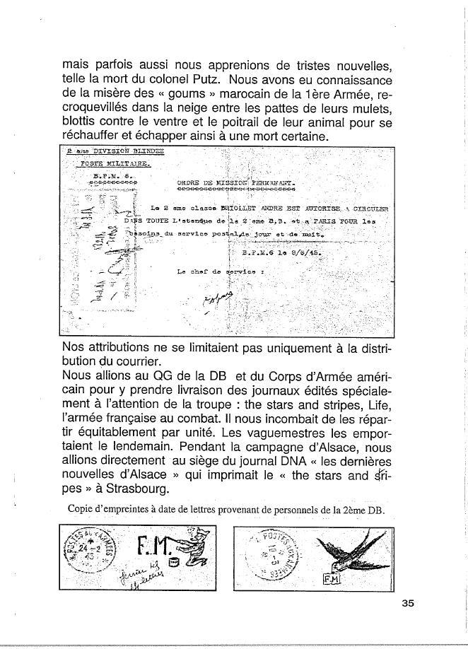 Historique du BPM6 par André BRIOLLET Huchet44