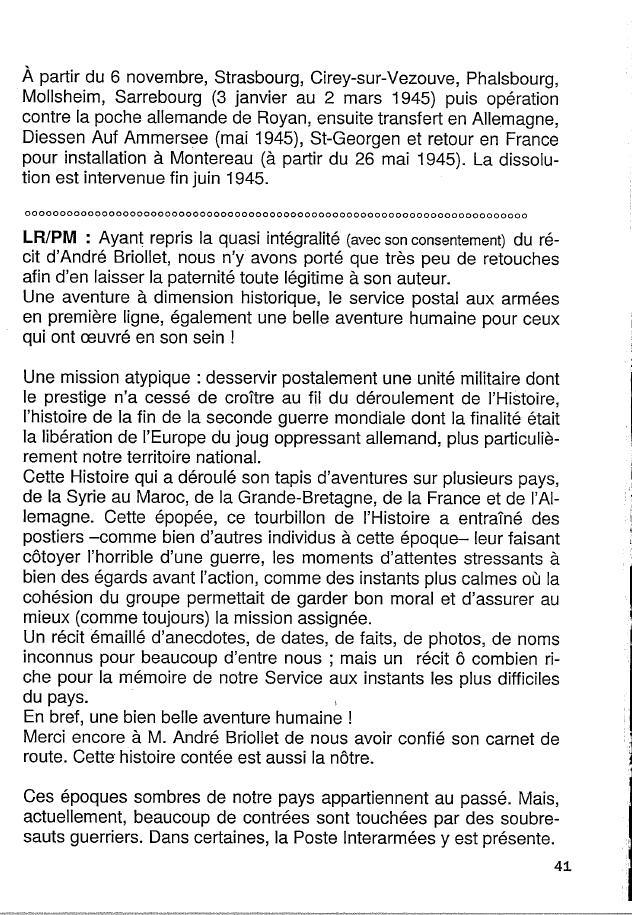 Historique du BPM6 par André BRIOLLET Huchet50