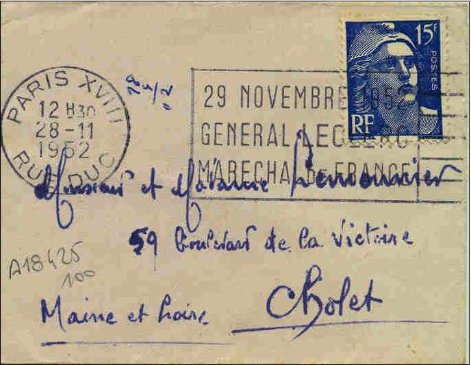 Paris  flammes 1952 Paris310