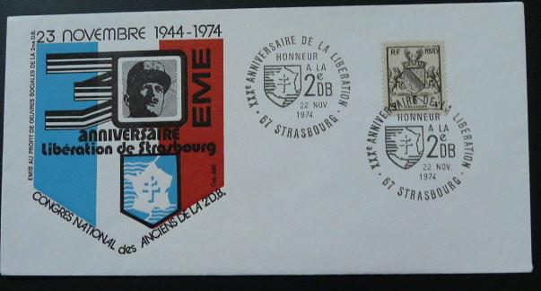 Strasbourg 1969 ,1974,1984,1987,1997,2014,médaille,vignettes Strasb13