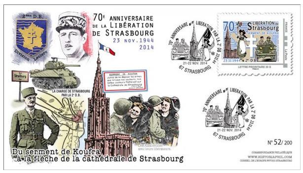 Strasbourg 1969 ,1974,1984,1987,1997,2014,médaille,vignettes Strasb15