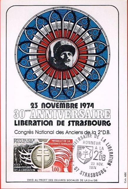 Strasbourg 1969 ,1974,1984,1987,1997,2014,médaille,vignettes Strasb20