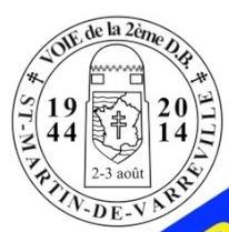 Voie de la 2ème DB : Saint-Martin-de-Varreville 2014 Voie_s13