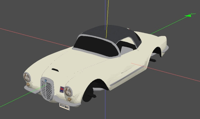(a project) Lancia Aurelia B24 Spider Shot10