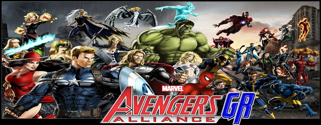 Marvel Avengers Alliance GR