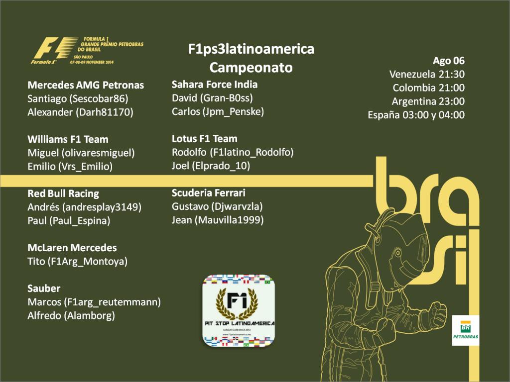 Gran Premio de Brasil Brasil10